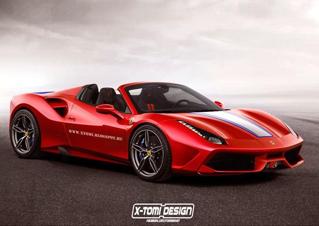 Ferrari 488 Spider: Jak by vypadalo v hávu modelu 458 Speciale?