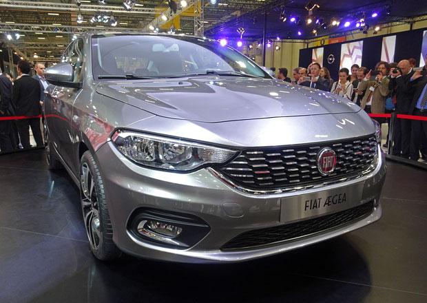 Fiat Aegea: Po sedanu přijde i hatchback a kombi