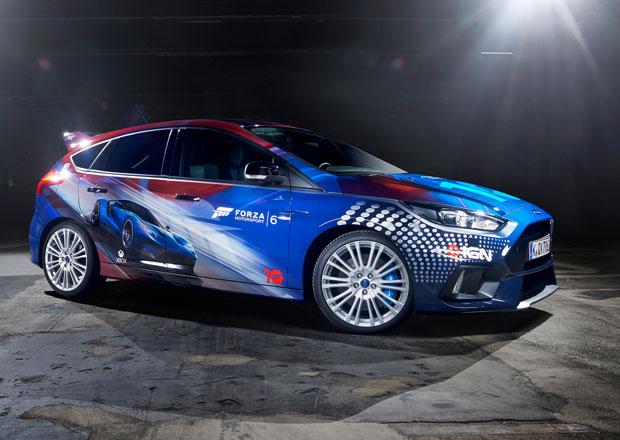 Ford Focus RS v barvách simulátoru Forza Motorsport 6
