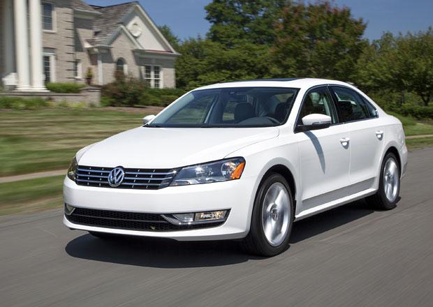 Americký Volkswagen Passat B7 má dostat na podzim facelift