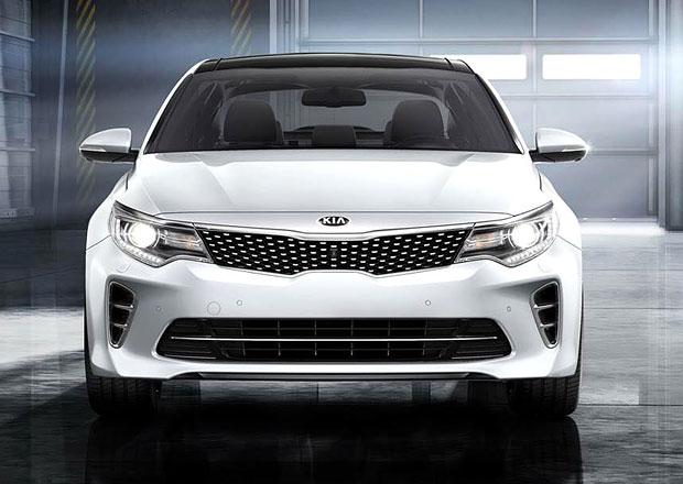 Kia Optima se odhaluje v evropské specifikaci a verzi GT