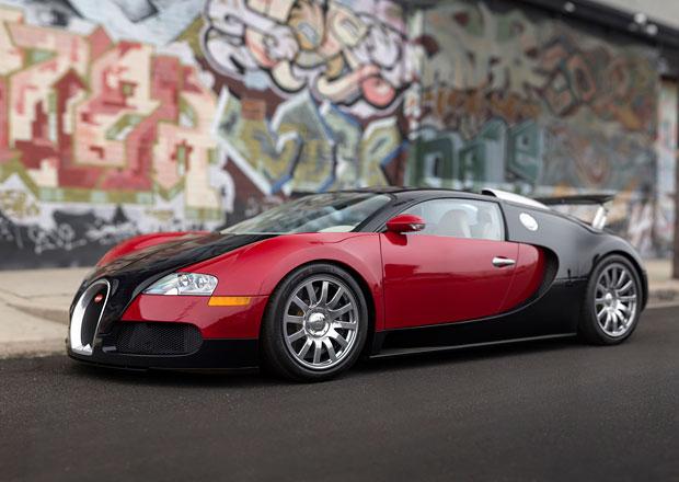 Bugatti Veyron: V Monterey se bude dražit první i poslední vyrobené kupé