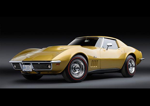 Zlatá Corvette L88 z roku 1969 k mání. Za 16 milionů korun