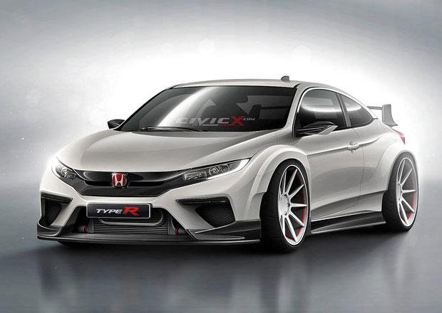 Honda Civic Type R 10.generace. Mohla by vypadat takhle?