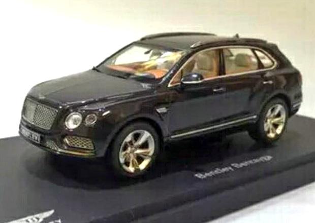 Vzhled Bentley Bentayga prozrazen, díky zmenšenému modelu