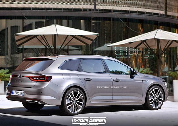 Renault ve Frankfurtu: Nový Mégane a Talisman Kombi