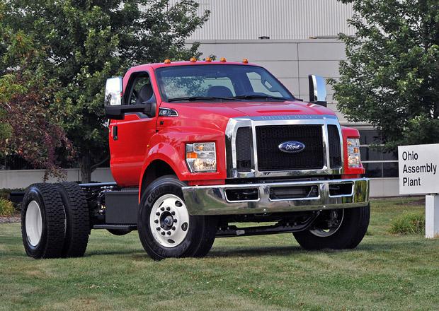 Ford spustil výrobu nových F-650/F-750