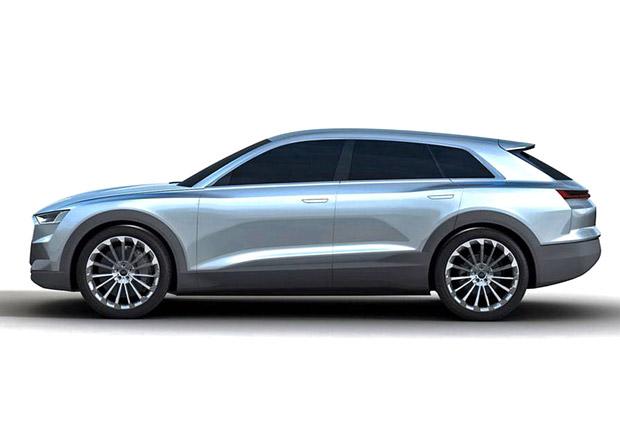Chystané elektrické SUV od Audi ujede 500 km, díky bateriím od LG a Samsungu