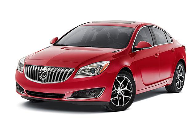 Buick uvádí své sedany vprovedení Sport Touring