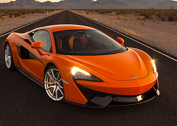 McLareny Sport Series a jejich testování (+video)
