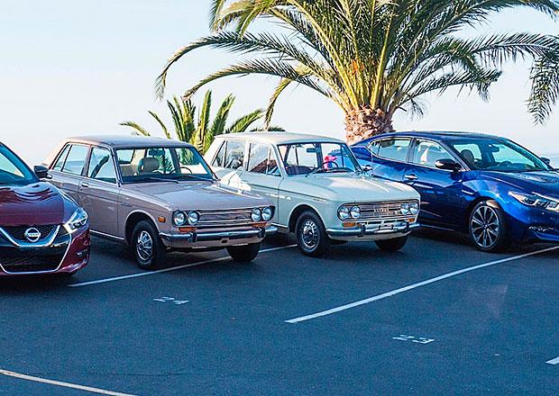 Datsuny 411 a 510 se vydaly na pouť z muzea do Pebble Beach