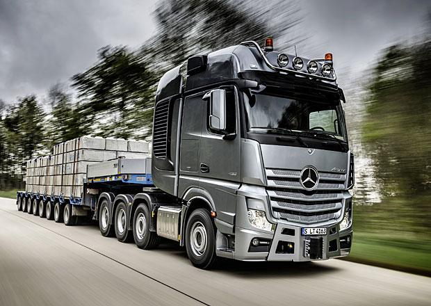 Mercedes-Benz nákladní auta: Pro letošek je zcela vyprodáno