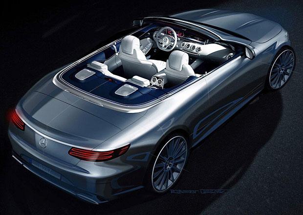 Mercedes-Benz S Cabrio: Otevřená třída S se odhaluje na první kresbě