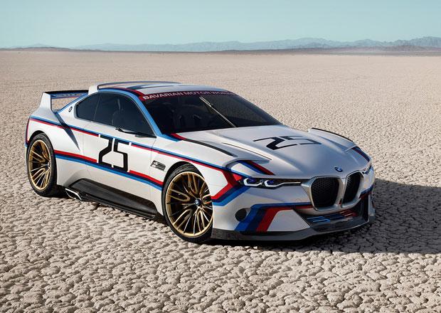 BMW 3.0 CSL Hommage R vzdává hold závodní 3.0 CSL ze 70. let