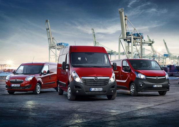 Opel a nové motory pro lehké užitkové modely