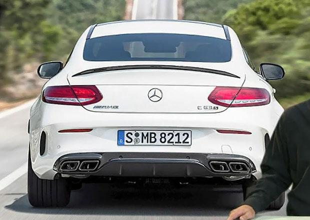 Mercedes-AMG C 63 Coupe je tady, zatím neoficiálně (+video)