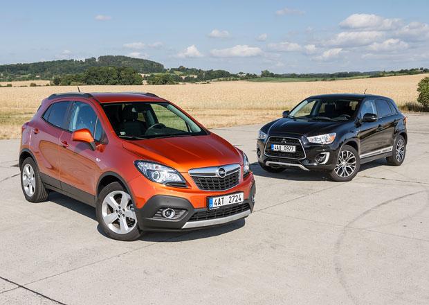 Mitsubishi ASX 1.6 DI-D 4WD vs. Opel Mokka 1.6CDTI 4x4