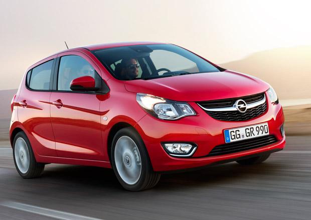 Opel Karl dostal �spornou verzi EcoFLEX, m� jezdit za 4,1 l/100 km