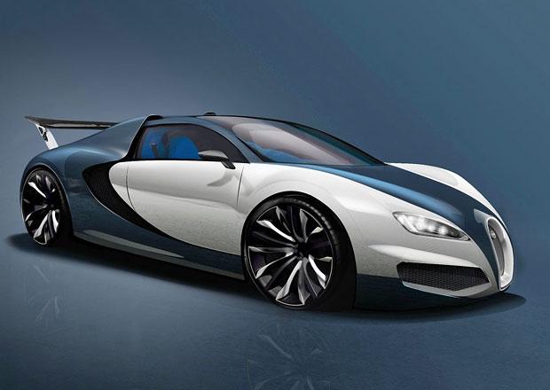 Bugatti Chiron: Kresby i špionážní fotografie (+video)