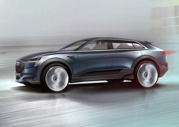 Audi e-tron quattro: Předzvěst elektrického crossoveru Q6