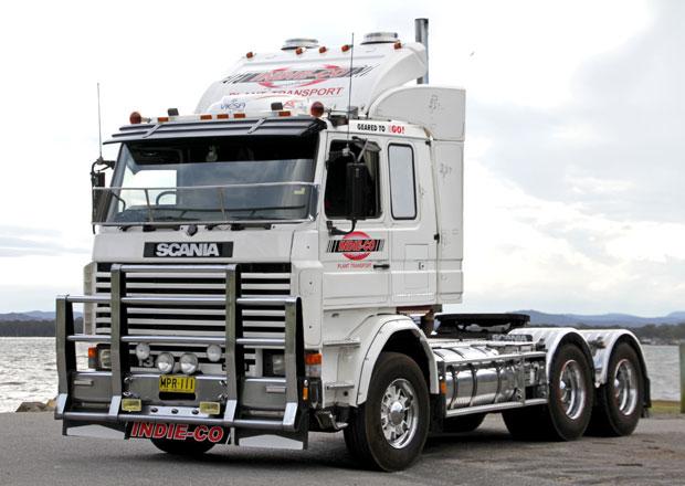 Scania 113M jako atraktivní důchodce