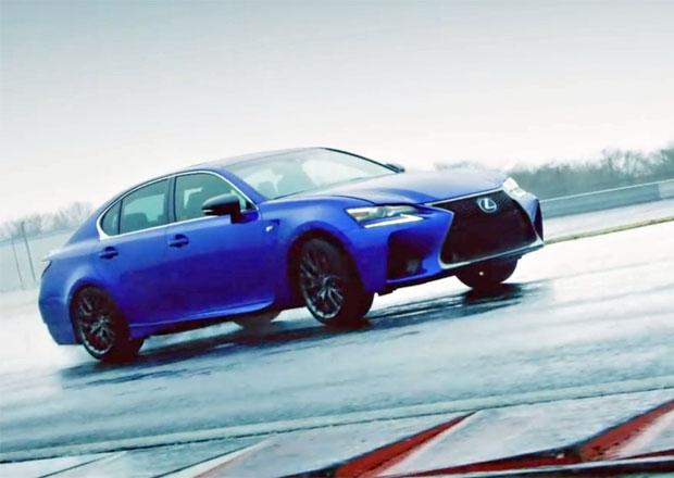 Video: Lexus GS F řádí na okruhu Fuji, ukáže se také RC F a LFA