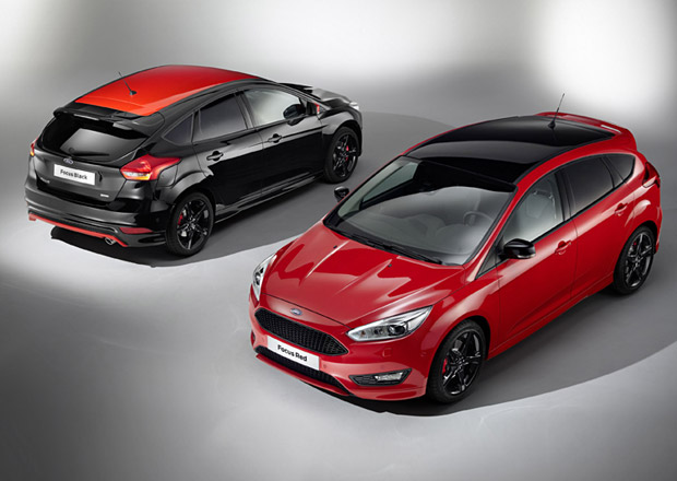 Ford Focus: Limitovan� edice Red & Black