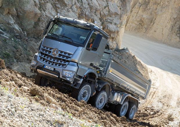 Mercedes-Benz Arocs turbo-retardér-spojka: Dva do terénu