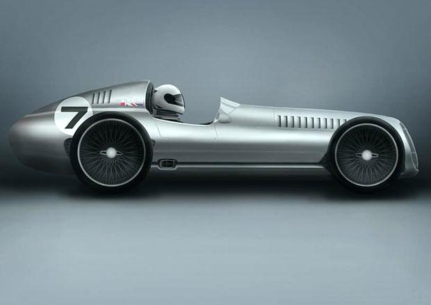 Kahn Design Speed 7: Vize retro sportovního vozu