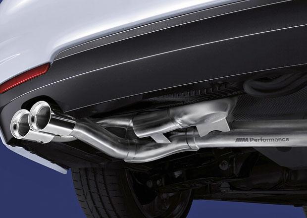 BMW nyn� pro diesely nab�z� v�fuk M Performance s reproduktorem uvnit�