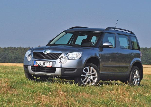Ojetá Škoda Yeti: Motor 2.0 TDI je nejlepší volbou