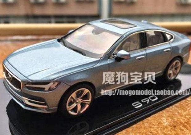 Volvo S90: Podoba prozrazena díky zmenšenému modelu