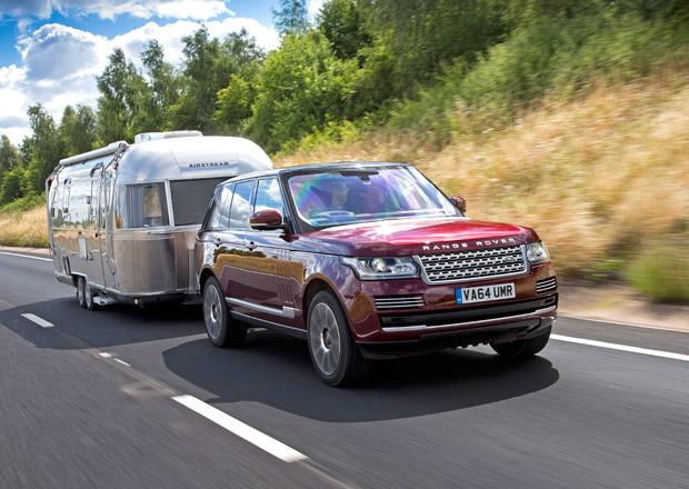 Land Rover představuje koncept průhledného přívěsu (+video)