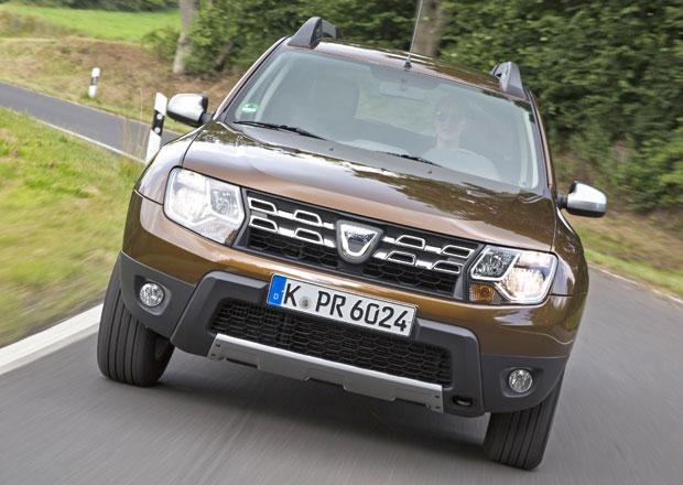Dacia ve Frankfurtu: Automat pro Logan a vylepšený Duster