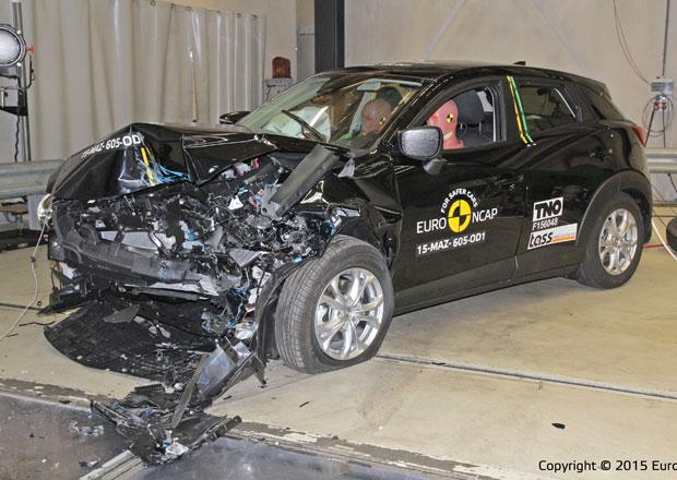 Euro NCAP 2015: Mazda CX-3 – Čtyři hvězdy pro japonskou krásku
