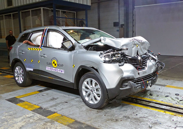 Euro NCAP 2015: Renault Kadjar – Pět hvězd pro francouzský Qashqai