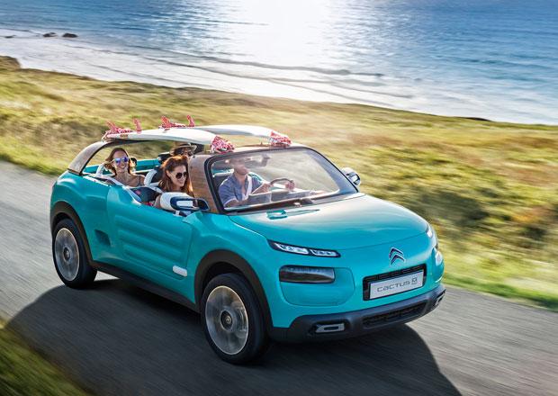 Citroën Cactus M: Novodobé Méhari se ukáže ve Frankfurtu