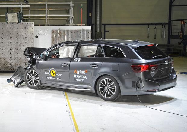 Euro NCAP 2015: Toyota Avensis – Pět hvězd i po modernizaci
