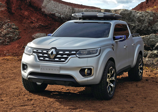 Renault Alaskan: Navara od Francouzů zatím jako koncept