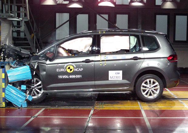 Euro NCAP 2015: VW Touran – Pět hvězd na první pokus