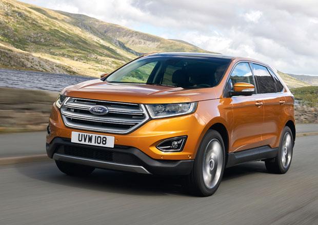 Ford přiveze do Frankfurtu facelift Kugy a evropskou verzi Edge