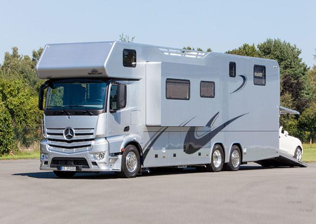 Mercedes-Benz Antos a Actros: Tak trochu jiné obytňáky