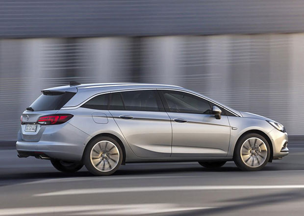 Opel Astra Sports Tourer: Nové kombi uveze až 1.630 litrů