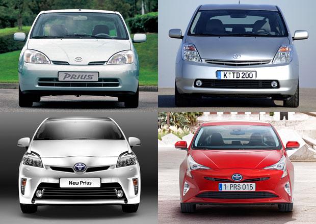 Čtyři generace Toyoty Prius: Tři hybridy a obludka
