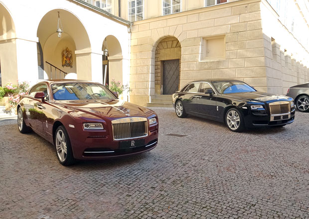 Rolls-Royce: První český showroom už na jaře