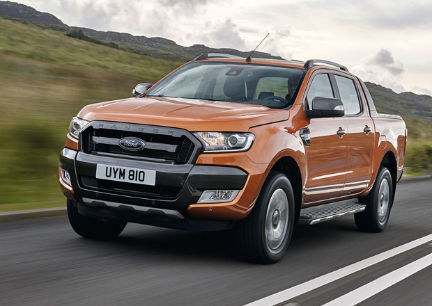 Ford Ranger: Facelift m��� do Evropy