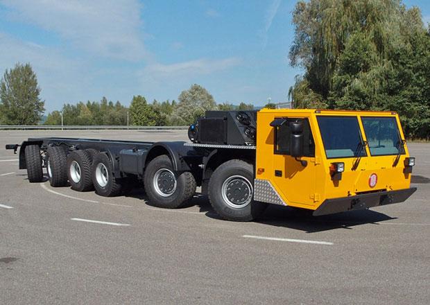 Tatra Force jako speciál pro dopravu trub