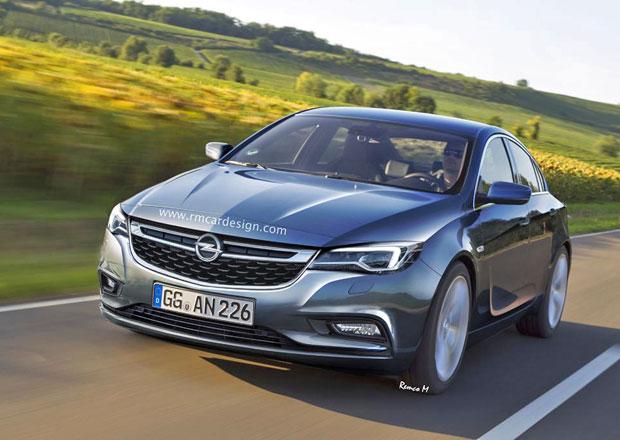 Opel Insignia: Nov� generace se p�edstav� v roce 2016