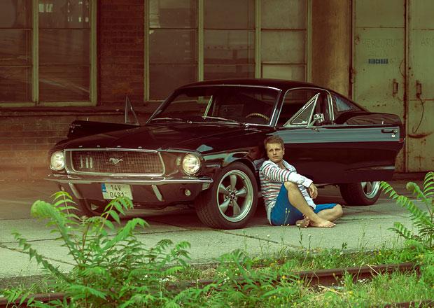 Rozhovor: Filip si letěl do USA splnit sen, přivezl Ford Mustang Fastback 1968