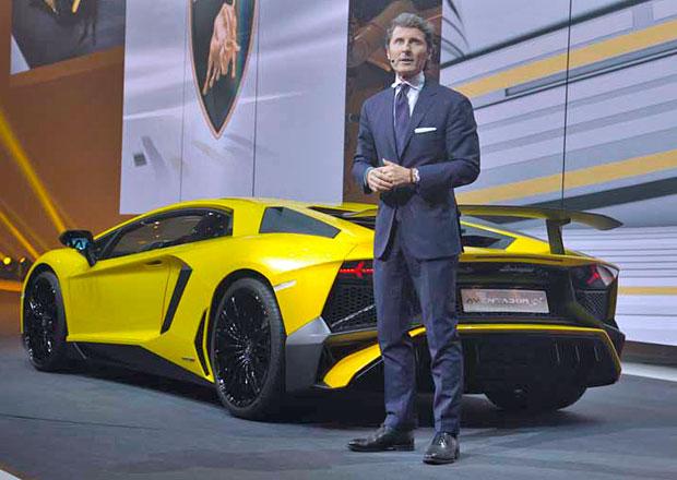 Šéf Lamborghini čeká letos rekordní prodej